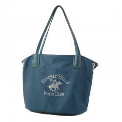 Torba damska STRASS Beverly Hills Polo Club petrol